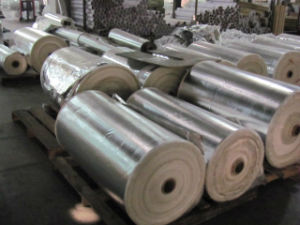 Fiberglass Coated Aluminum Foil as Pipe Insualtion pictures & photos