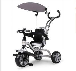 Factory Hot Supply Kids Tricycle Foldable in White pictures & photos
