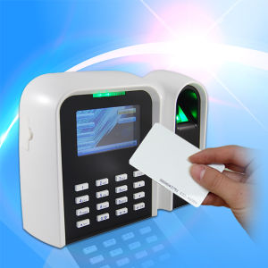 Simple Fingerprint RFID Time Clocking Reader (T9) pictures & photos