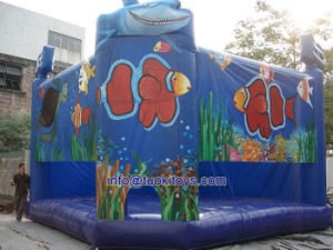 Popular Style Inflatable Bouncer Made of 18 Oz PVC Tarpaulin (A164) pictures & photos
