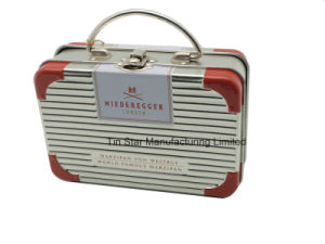 Lunch Tin Box in Trunk Shape for Gift