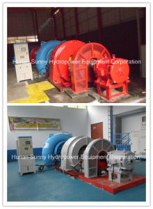 Hydropower Francis Turbine-Generator Sfw-1800 High Voltage 6.3kv/ Hydropower/ Hydro (Water) Turbine/ Hydroturbine pictures & photos