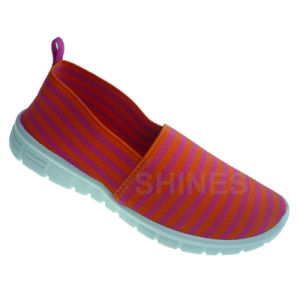 Elastic Upper Injection Shoes for Women pictures & photos