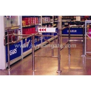 Security Cross Turnstile, Security Access Control pictures & photos