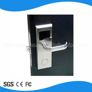 High Quality Free Software RFID Mf1 Technology Hotel Smart Card Electronic Door Lock pictures & photos