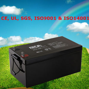 Sealed Deep Cycle Battery 12V VRLA Battery 250ah pictures & photos