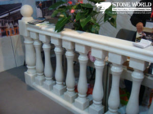 Custom White Marble Stone Baluster for Home Decoration pictures & photos