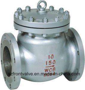 Carbon Steel Flanged End Swing Check Valve pictures & photos