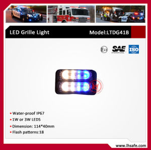 Surface Mounting Three LEDs Modules Warning Lighthead (LTDG41B) pictures & photos