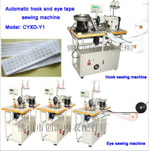 Automatic Hook and Eye Tape Sewing Machine (cyxd-y1) pictures & photos