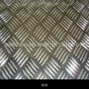 Good Price Aluminium 5 Bars Embossed Sheet for Car Bady