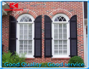 Europe Style Aluminum Decorative Exterior Window Shutters