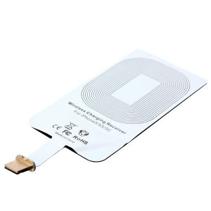 Qi Wireless Charger Universal Receiver for iPhone pictures & photos