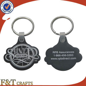 Promotional Gift 2D Custom Shaped Soft PVC Keychain (FTPV2720A) pictures & photos