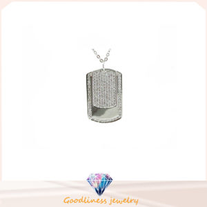 High Quality Woman′s Jewelry 925 Silver Necklace (P5066) pictures & photos
