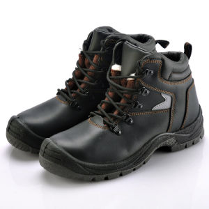 Black Safety Footwear (8087) pictures & photos