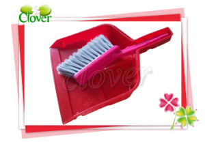 Plastic Table Dustpan Brush Set with Good Quality pictures & photos