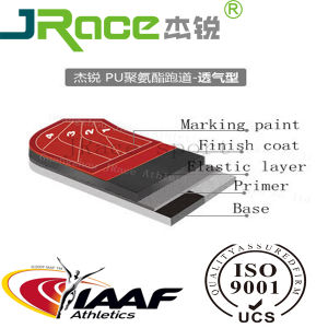 Iaaf &Ce EPDM Sport Floor Surface pictures & photos