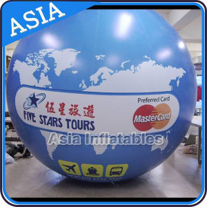 Custom Giant Blue Helium Balloon with Full Color Digital Printing pictures & photos