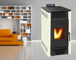 Indoor Using Wood Pellet Stove with Remote Control (NB-P01) White pictures & photos