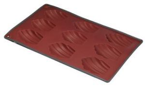 Two Color Silicone 9 Cup Madelaine Muffin Pan & Cake Mould &Bakeware FDA/LFGB (SY1905) pictures & photos