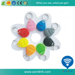 Waterproof ABS/Silicone 125kHz Tk4100 RFID Keyfob pictures & photos