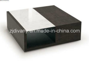 Home Coffee Table Living Room Marble Top Coffee Table Tea Table (T 93)