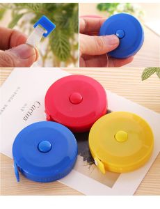 150 Cm Colorful Pocket Plastic Round Tapeline Tape Measure pictures & photos