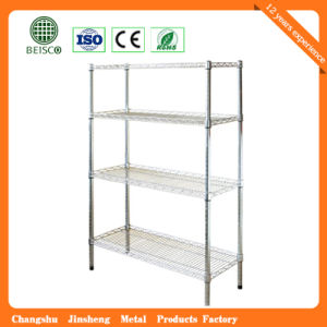 Popular Chrome Steel Display Wire Shelving pictures & photos