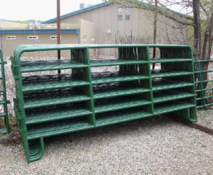 5foot*12foot Powder Coated Steel Cattle Panels/Horse Yard Panels pictures & photos