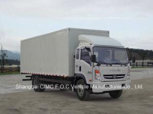Sinotruk Homan Light Duty Cargo Truck 4*2 Van Truck pictures & photos