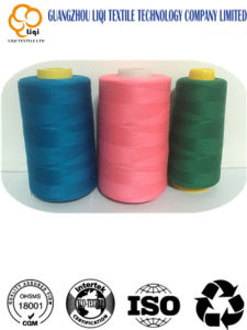High Tenacity Low Shrinkage Polyester Sewing Thread pictures & photos