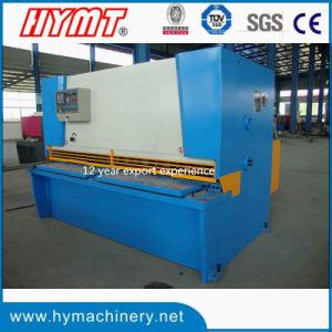 QC11y-12X4000 Hydraulic Guillotine Shearing Machine/metal shett cutting machine pictures & photos