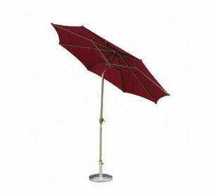 High Quality Foldbale Aluminum Beach Umbrella pictures & photos
