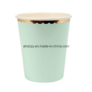 Hot Sale 9oz Single Wall 9oz Boba Paper Cup for Hot Drink pictures & photos
