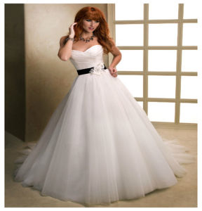 2016 High Quality Elegant Tull Princess Bridal Dresses pictures & photos