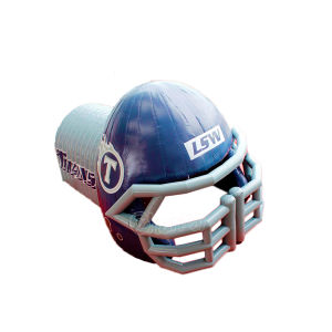 Sports Tunnel Inflatable Football Helmet Tunnel Chad366 pictures & photos