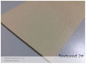 Textured/Embossed/Grain/Patterned HIPS Sheet for Vacuum Forming pictures & photos
