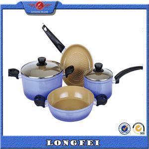 Aluminum Ceramic Cooking Pot Wholesale pictures & photos