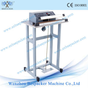 Foot Impulse Plastic Bag Sealing Packing Machine pictures & photos