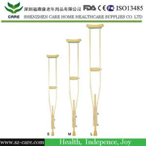 Rehabilitation Therapy Supplies Properties Adjustable Aluminium Walking Sticks pictures & photos