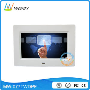4G 3G Bluetooth WiFi Touch Screen Digital Photo Frame 7 Inch pictures & photos