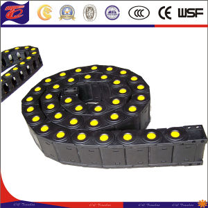 Engineering Enclosed Plastic Roller Drag Cable Chain pictures & photos