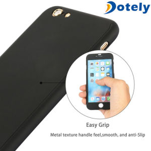 360 Protector Slim Skin Case with Tempered Glass for Cellphone pictures & photos