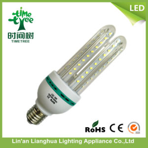 LED Bulb 4u Glass Transparent Cover LED Corn Lamp Light pictures & photos