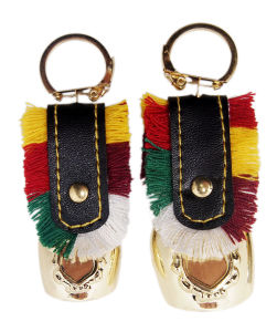 Souvenir Bells Gifts with Embossed Sticker Holder as Keychains pictures & photos