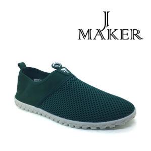 Men Injection Canvas Shoes Casual Walk Shoe Jm2016-M