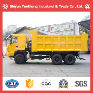 6X4 25t 3 Axle Heavy Tipper Dump Truck pictures & photos