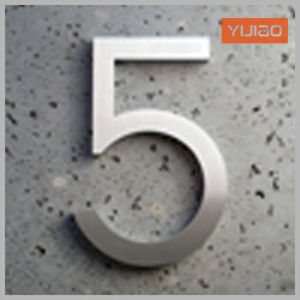 Stainless Steel Letters and Numbers Sign pictures & photos