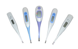 Digital Flexible Thermometer with Feverline Indicator pictures & photos